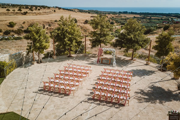 Aphrodite Circle Liopetro wedding venue Cyprus