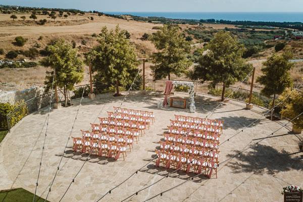 Aphrodite Circle Liopetro wedding venue Cyprus