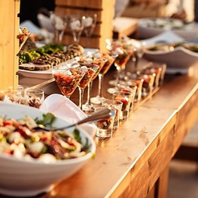 Food menu liopetro wedding