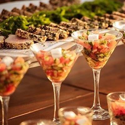 Liopetro Wedding Menu Food Canapes