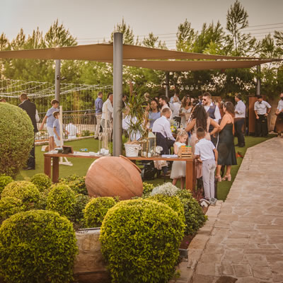 Liopetro afternoon coctails wedding venue cyprus rustic weddings