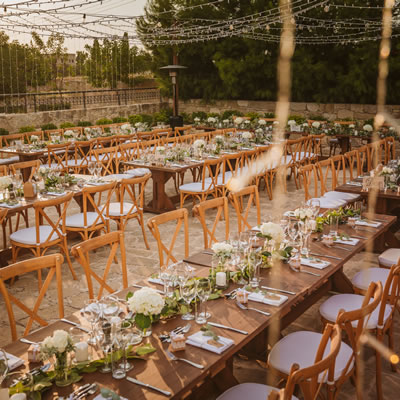 Liopetro dinner wedding venue cyprus rustic weddings